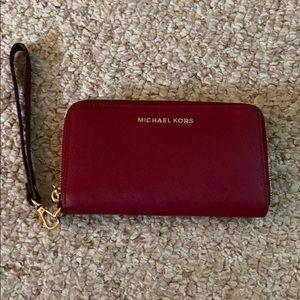 Michael Kors wallet.